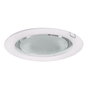DOWN LIGHT REDONDO EMPOTRAR E27 2X25 W BLANCO