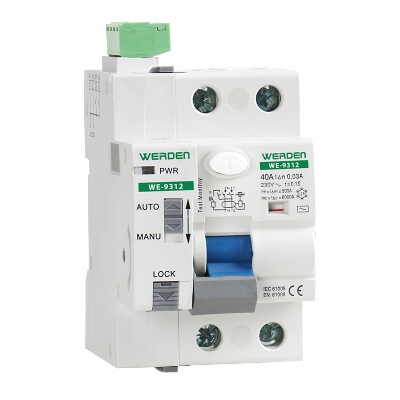 INTERRUPTOR DIFERENCIAL 2 P 40 A 30 MA REARMABLE