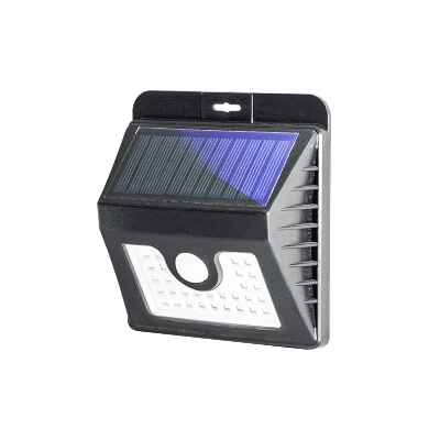 Black Solar Surface Wall Lamp 3.5W with Sensor