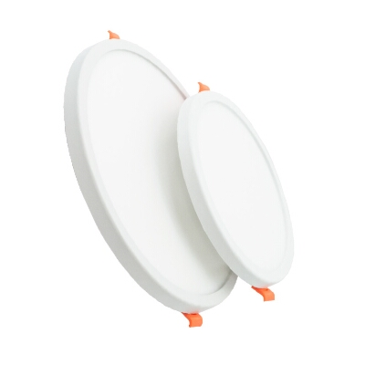 White Adjustable Embedded LED Downlight 8W 6000ºK