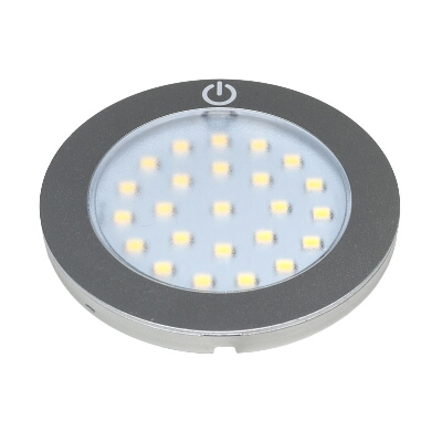 APLIQUE SUPERFICIE LED C/SENSOR TACTO 2,8 W 4500ºK