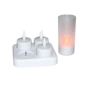 SET 4 VELAS RECARGABLES